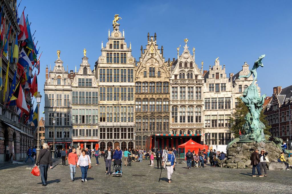 Антверпен достопримечательности фото с описанием