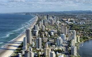 Австралия что посмотреть Золотое Побережье