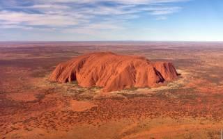 Австралия что посмотреть Алис-Спрингс и Айерс-Рок