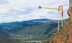 Качели Giant Canyon Swing, США — обзор