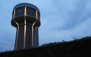 Дом в водонапорной башне, Бельгия — обзор