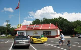 McDonalds в Барстоу, США — обзор