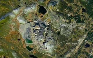 Шахта Кирунавара, Швеция — обзор