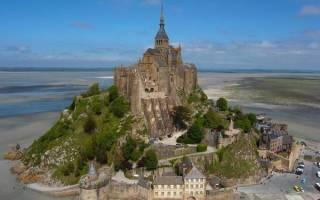 Остров-крепость Мон-Сен-Мишель, Франция — обзор