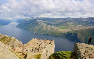 Скала Кафедра проповедника, Норвегия — обзор