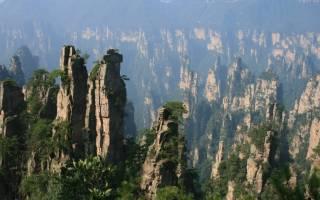 Горы Улинъюань, Китай — обзор
