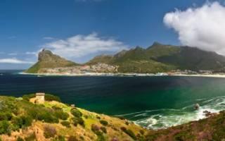 Пляж Гансбааи, Южная Африка — обзор