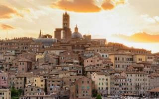 Исторический центр города Сиена, Италия — обзор