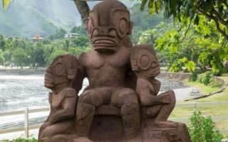 Статуи Темехеа-Тохуа, Французская Полинезия — обзор