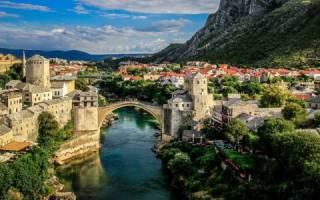Мостар — что посмотреть по городам Боснии и Герцеговины