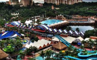 Аквапарк «Солнечная лагуна», Малайзия — обзор