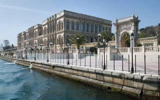 Набережная Босфорского пролива, Турция — обзор