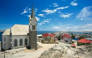 Людериц — что посмотреть по городам Намибии