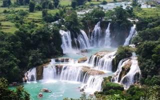 Водопад Detian – Banyue, Китай — Вьетнам — обзор