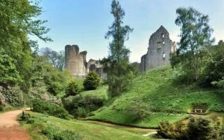 Замок Килдрамми, Шотландия — обзор