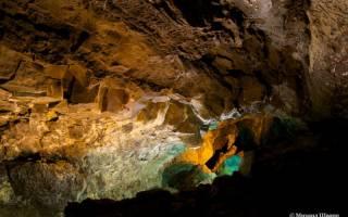 Пещера Куэва-де-лос-Вердес, Испания — обзор