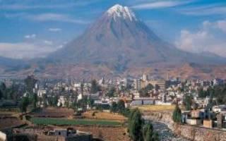 Арекипа — что посмотреть по городам Перу