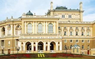 Театр оперы и балета Одессы, Украина — обзор