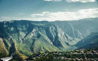 Татевская канатная дорога, Армения — обзор