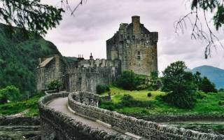 Замок Толкухон, Шотландия — обзор