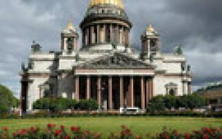 Россия что посмотреть в Санкт-Петербурге