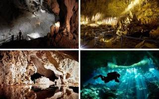 Пещера Фишер-Ридж, США — обзор