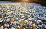 Стеклянный пляж, США — обзор