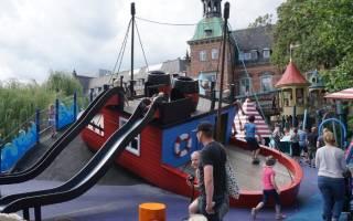 Парк Тиволи, Дания — обзор
