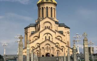 Храм Цминда Самеба, Грузия — обзор