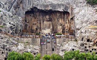 Пещерный храм Лунмэнь, Китай — обзор