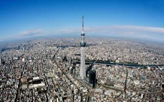 Смотровая площадка Sky Tree, Япония — обзор