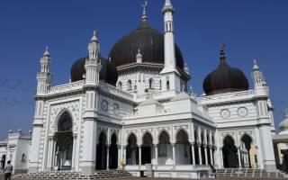 Мечеть Захир, Малайзия — обзор