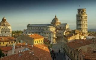 Пиза — что посмотреть по городам Италии