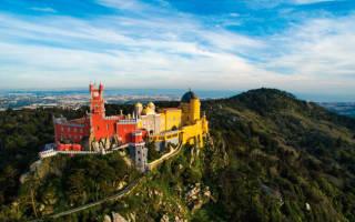 Дворец Пена, Португалия — обзор