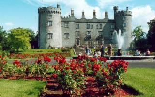 Замок Килкенни, Ирландия — обзор