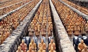 Терракотовая армия в мавзолее Цинь Шихуанди, Китай — обзор
