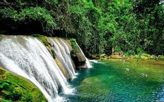 Водопады реки Данн, Ямайка — обзор