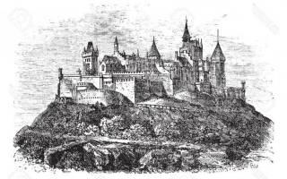Замок Гогенцоллерн, Германия — обзор