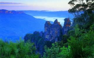 Австралия что посмотреть Голубые горы