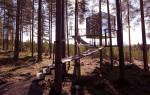 Зеркальный куб, Швеция — обзор
