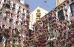 Цветочные дома в Кордове, Испания — обзор
