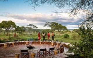 Бассейн в кемпинге Sanctuary Swala, Танзания — обзор