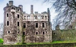 Замок Хантли, Шотландия — обзор