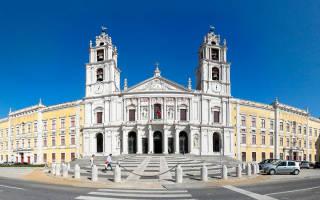 Национальный дворец Мафра, Португалия — обзор