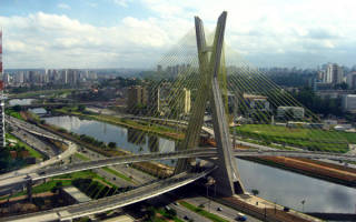 Мост Октавио Фриас де Оливейра, Бразилия — обзор