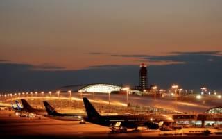 Аэропорт Кансай, Япония — обзор