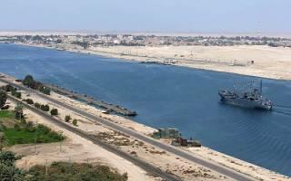 Суэцкий канал, Египет — обзор