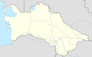 Фирюза — что посмотреть по городам Туркменистана