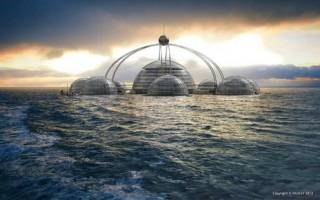 Ихтиандрам. Причудивые дома, отели и постройки на воде и под водой — обзор