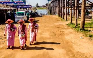 Мост U Pain, Мьянма — обзор
